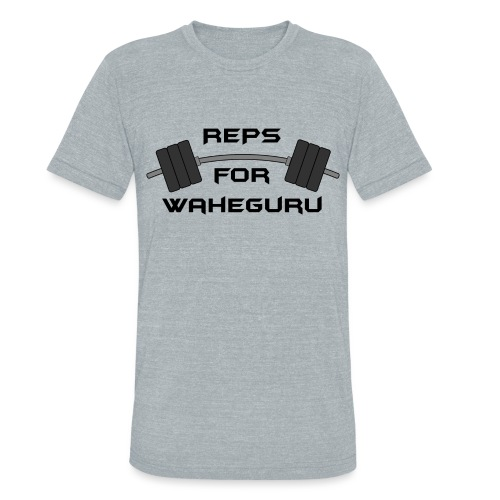 REPS FOR WAHEGURU - Unisex Tri-Blend T-Shirt