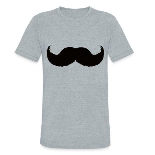 Mustache Tee - Unisex Tri-Blend T-Shirt