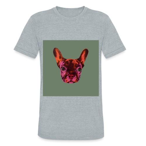 French Bulldog - Unisex Tri-Blend T-Shirt