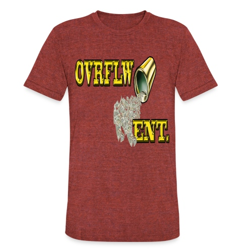 OVRFLW - Unisex Tri-Blend T-Shirt