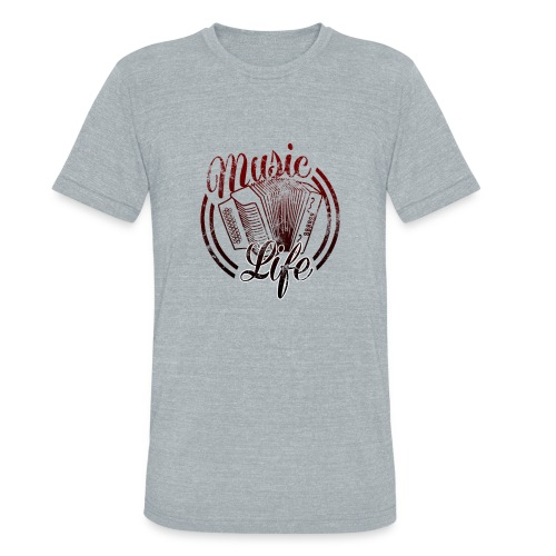 MusicLife2 - Unisex Tri-Blend T-Shirt