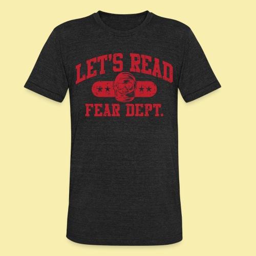 Athletic - Fear Dept. - RED - Unisex Tri-Blend T-Shirt