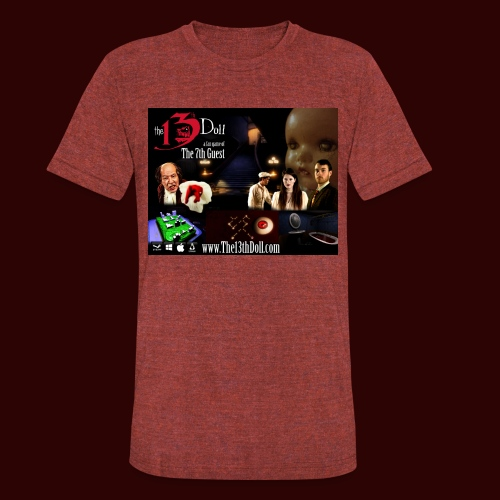 The 13th Doll Cast and Puzzles - Unisex Tri-Blend T-Shirt