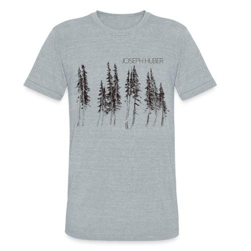 Joseph Huber - Fir Trees - Unisex Tri-Blend T-Shirt