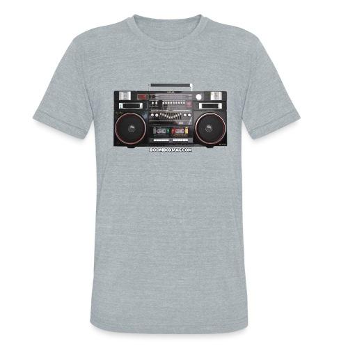 Helix HX 4700 Boombox Magazine T-Shirt - Unisex Tri-Blend T-Shirt