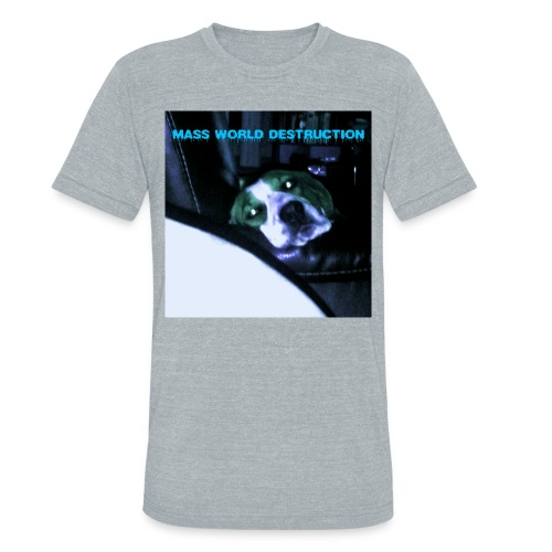 Mass World Depression - Unisex Tri-Blend T-Shirt