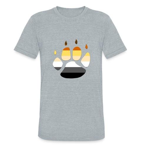 Bear PRIDE PAW - Unisex Tri-Blend T-Shirt