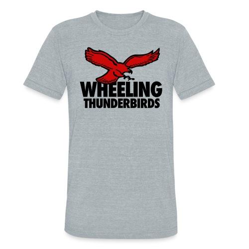 Wheeling Thunderbirds - Unisex Tri-Blend T-Shirt