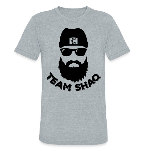 team shaq - Unisex Tri-Blend T-Shirt