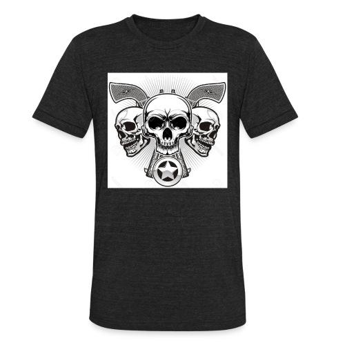 Skulls - Unisex Tri-Blend T-Shirt