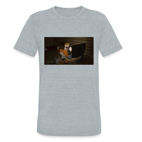 novaskin wallpaper jpg - Unisex Tri-Blend T-Shirt
