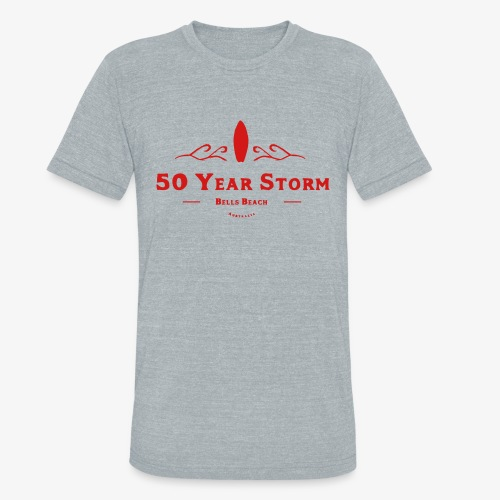 50 Year Storm - Unisex Tri-Blend T-Shirt