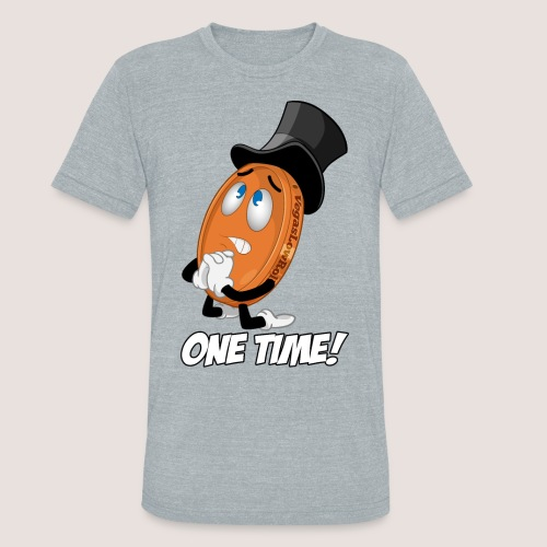 THE ONE TIME PENNY - Unisex Tri-Blend T-Shirt