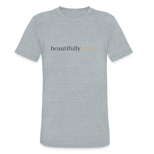 beautifullybrown - Unisex Tri-Blend T-Shirt