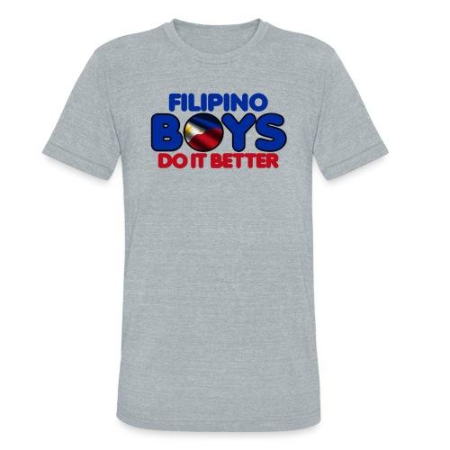 2020 Boys Do It Better 05 Filipino - Unisex Tri-Blend T-Shirt