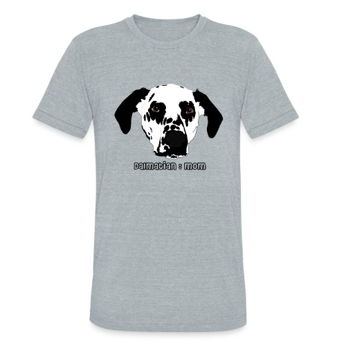 Dalmatian Mom - Unisex Tri-Blend T-Shirt