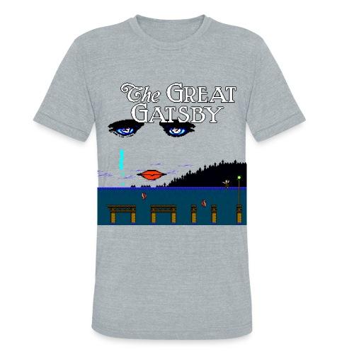 Great Gatsby Game Tri-blend Vintage Tee - Unisex Tri-Blend T-Shirt