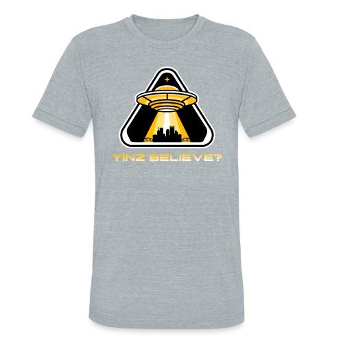 Yinz Believe? - Unisex Tri-Blend T-Shirt