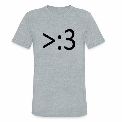 >:3 - Unisex Tri-Blend T-Shirt