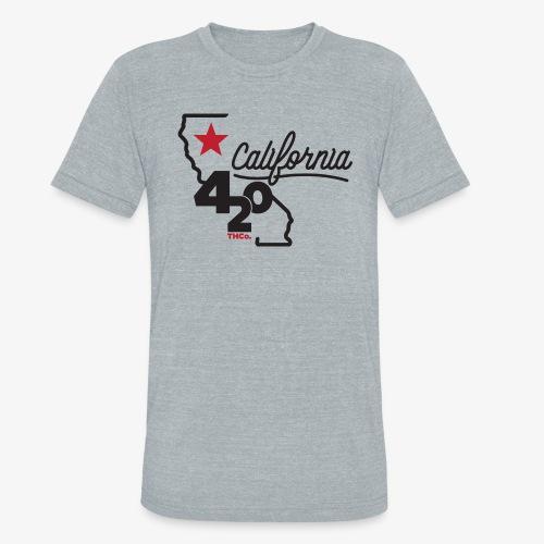California 420 - Unisex Tri-Blend T-Shirt