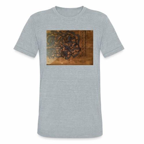 Dilfliremanspiderdoghappynessdogslikeitverymuchtha - Unisex Tri-Blend T-Shirt