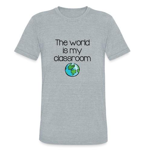 World Classroom - Unisex Tri-Blend T-Shirt