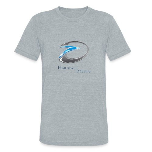 Harneal Media Logo Products - Unisex Tri-Blend T-Shirt