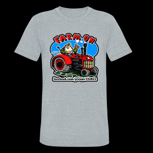 Mr Natural Farm On - Unisex Tri-Blend T-Shirt