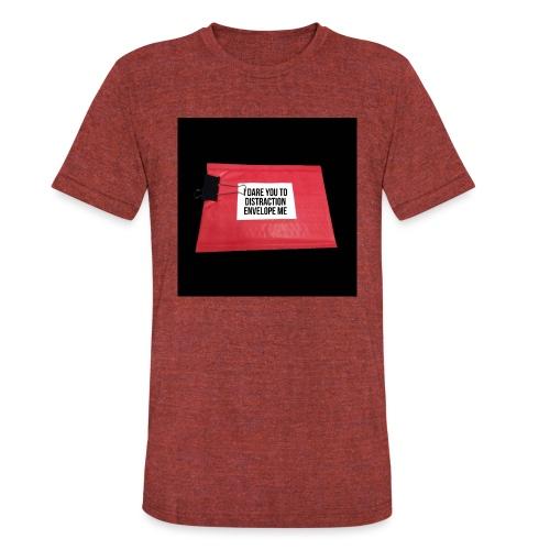 Distraction Envelope - Unisex Tri-Blend T-Shirt