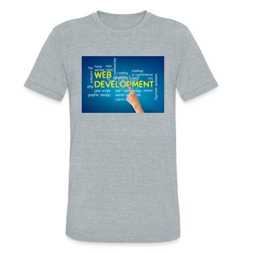 web development design - Unisex Tri-Blend T-Shirt