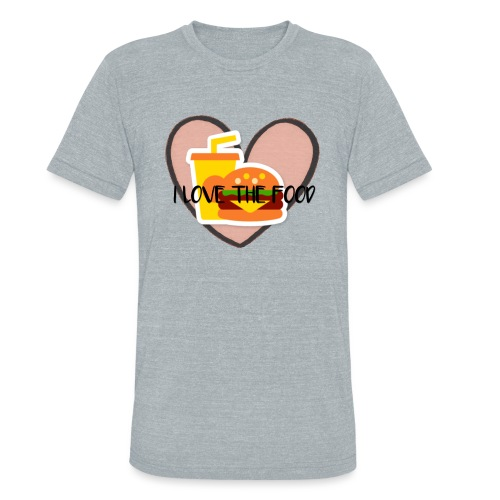 Food - Unisex Tri-Blend T-Shirt