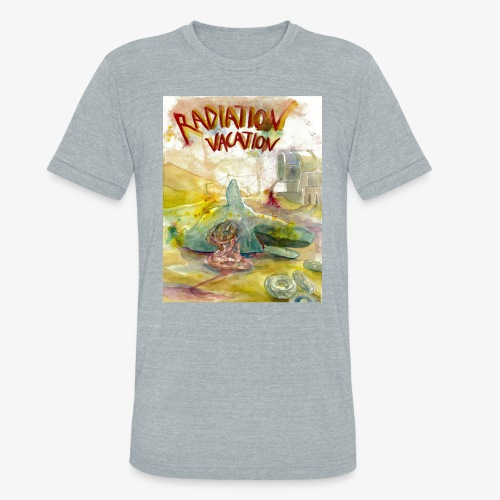 Beached Whale - Unisex Tri-Blend T-Shirt