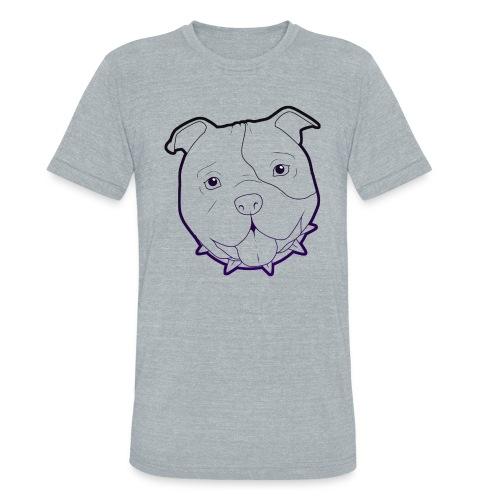 Pit Tee Outline alt. - Unisex Tri-Blend T-Shirt
