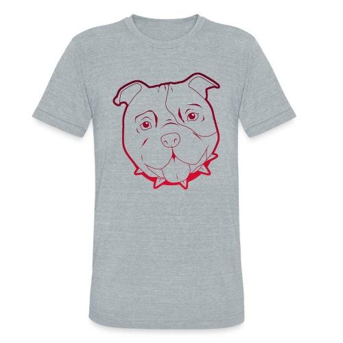 Pit Tee Outline - Unisex Tri-Blend T-Shirt