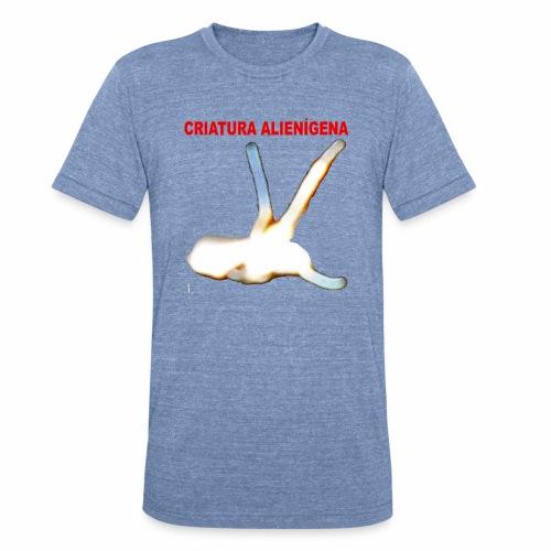 CRIATURA ALIENI GENA - Unisex Tri-Blend T-Shirt
