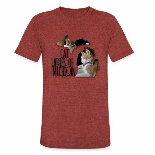 Cat Ladies of Michigan - Unisex Tri-Blend T-Shirt
