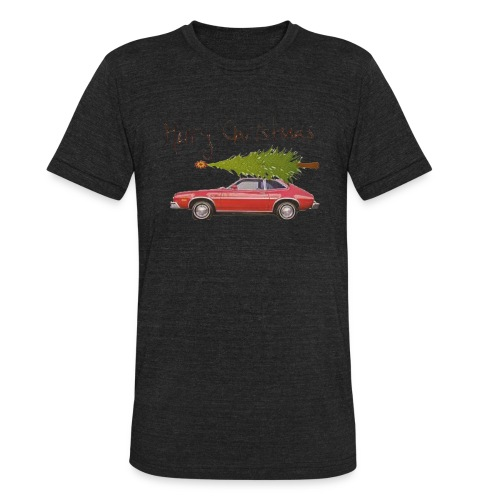 Ford Pinto Merry Christmas - Unisex Tri-Blend T-Shirt