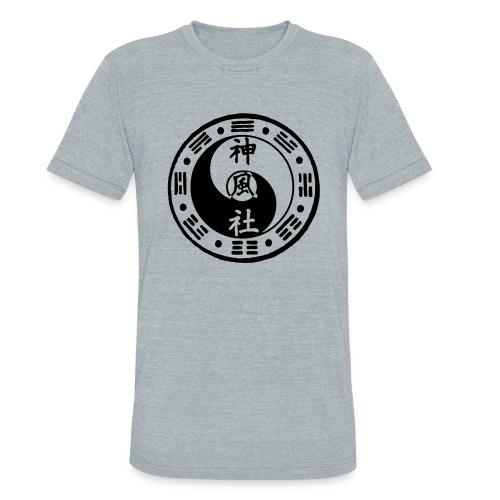SWC LOGO BLACK - Unisex Tri-Blend T-Shirt