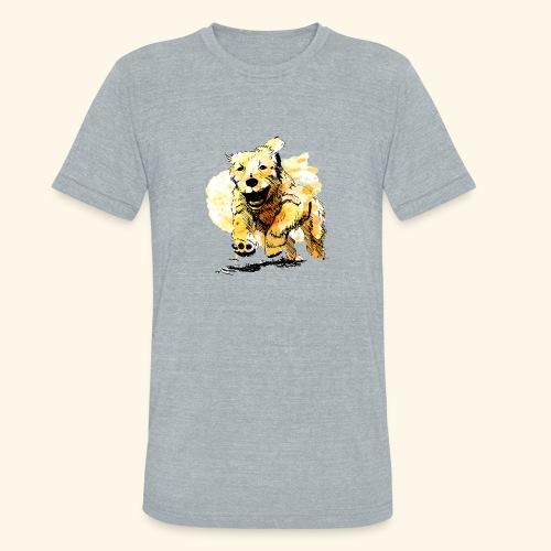 oil dog - Unisex Tri-Blend T-Shirt
