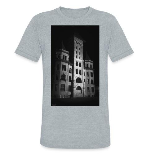 Castle in Town - Unisex Tri-Blend T-Shirt