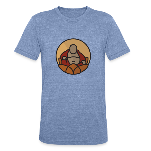 AMERICAN BUDDHA CO. COLOR - Unisex Tri-Blend T-Shirt