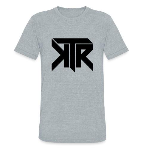 KTR Logo Black - Unisex Tri-Blend T-Shirt