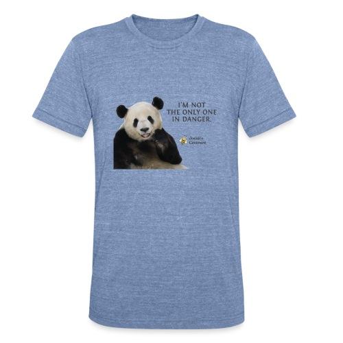 Endangered Pandas - Josiah's Covenant - Unisex Tri-Blend T-Shirt