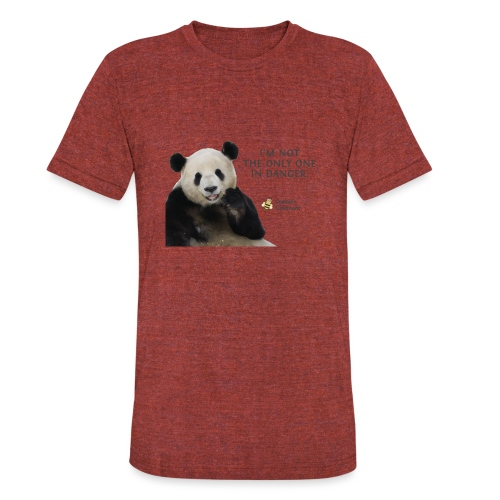 Endangered Pandas - Josiah's Covenant - Unisex Tri-Blend T-Shirt
