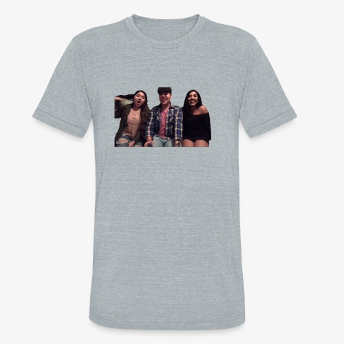 Fido, Cindy, and Tania - Unisex Tri-Blend T-Shirt