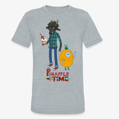 Pinapple Time Inside Joke T-Shirt - Unisex Tri-Blend T-Shirt