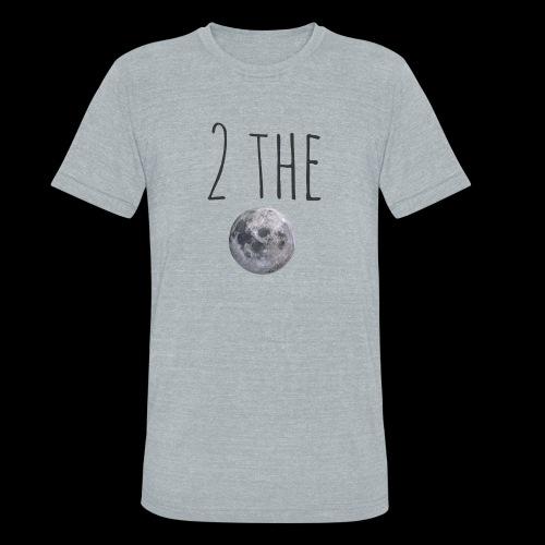2themoon Tee - Unisex Tri-Blend T-Shirt