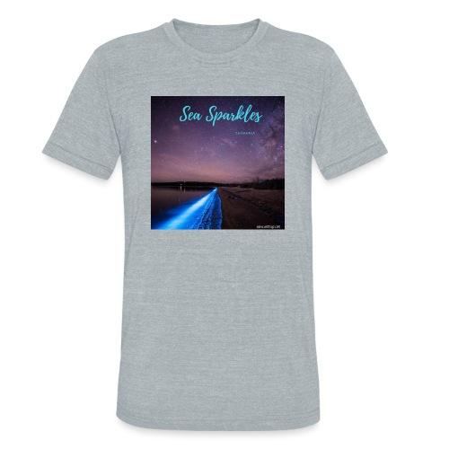 Tasmanian Sea Sparkles - Unisex Tri-Blend T-Shirt