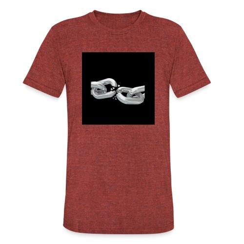 break the chains - Unisex Tri-Blend T-Shirt