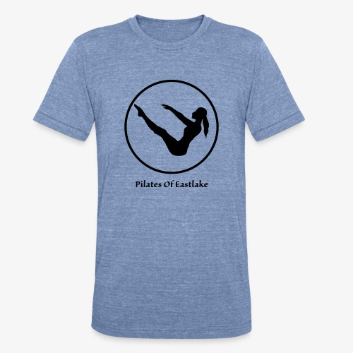 Pilates Of Eastlake Logo - Unisex Tri-Blend T-Shirt